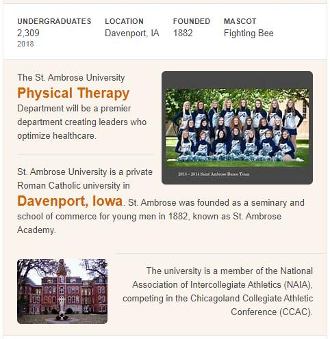 St. Ambrose University History
