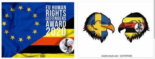 Sweden and Uganda