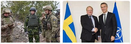 Sweden and Ukraine