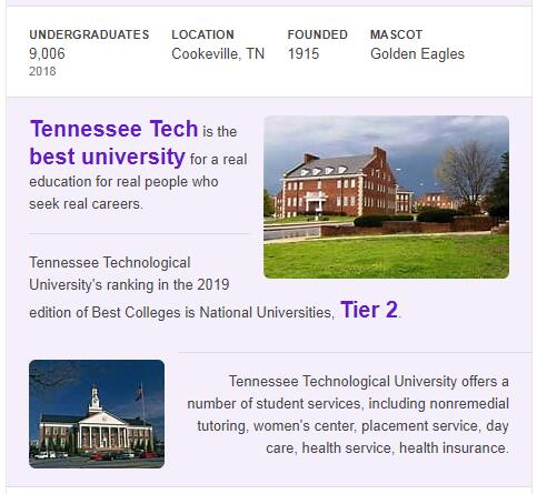 Tennessee Technological University History