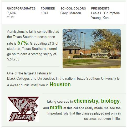Texas Southern University History