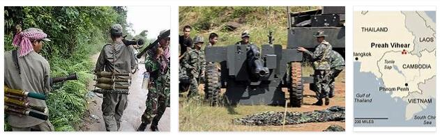 Thailand Border conflict with Cambodia