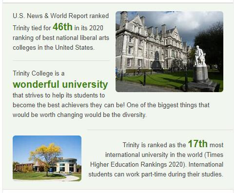 Trinity College History