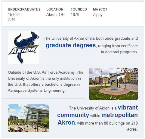 University of Akron History