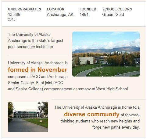 University of Alaska-Anchorage History