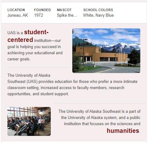University of Alaska-Southeast History