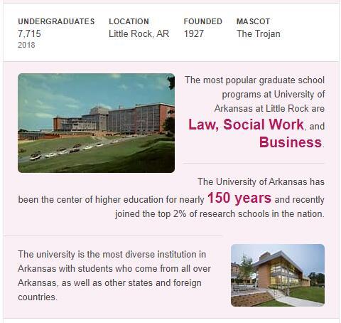 University of Arkansas-Little Rock History