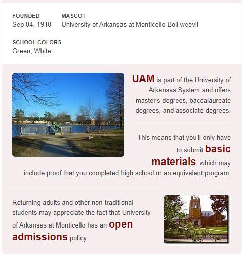 University of Arkansas-Monticello History