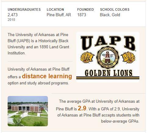University of Arkansas-Pine Bluff History