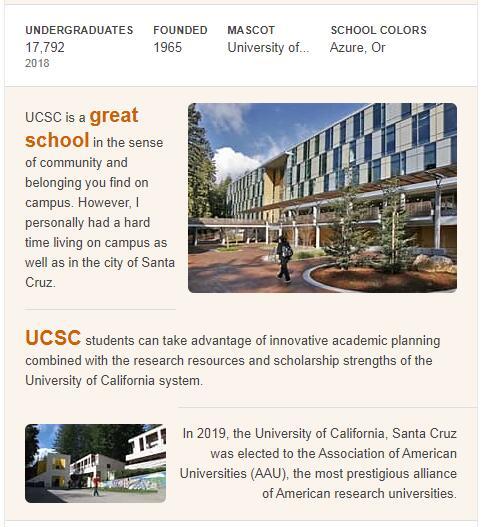 University of California-Santa Cruz History