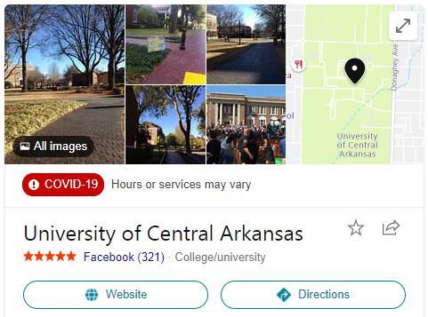 University of Central Arkansas History