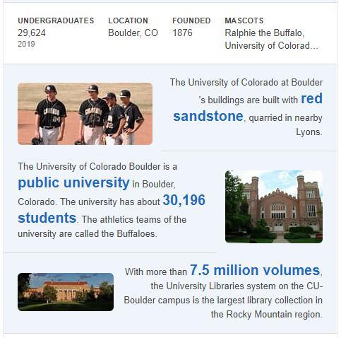 University of Colorado-Boulder History
