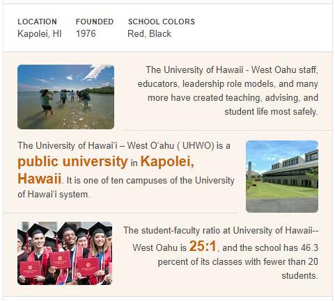 University of Hawaii-West Oahu History