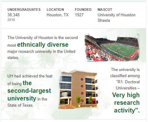 University of Houston History