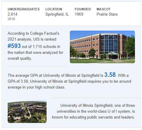 University of Illinois-Springfield History