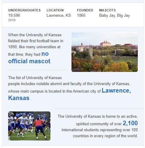 University of Kansas History