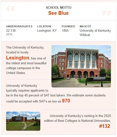 University of Kentucky History