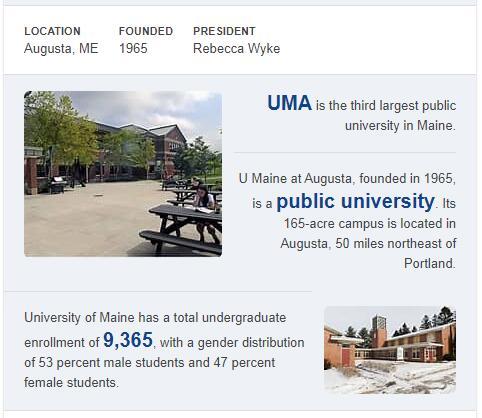 University of Maine-Augusta History