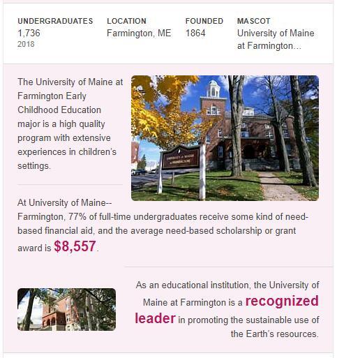 University of Maine-Farmington History