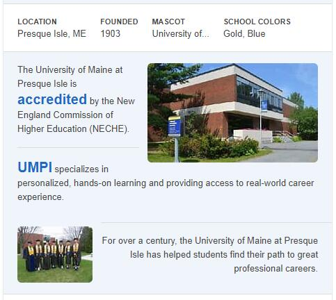 University of Maine-Presque Isle History