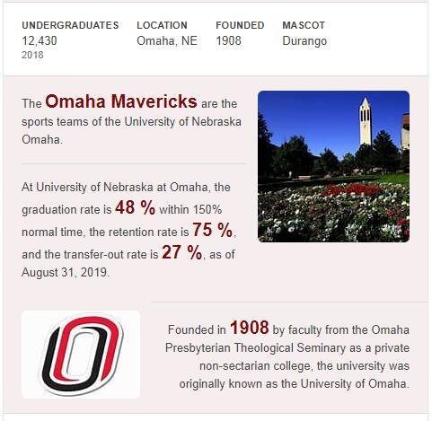 University of Nebraska-Omaha History