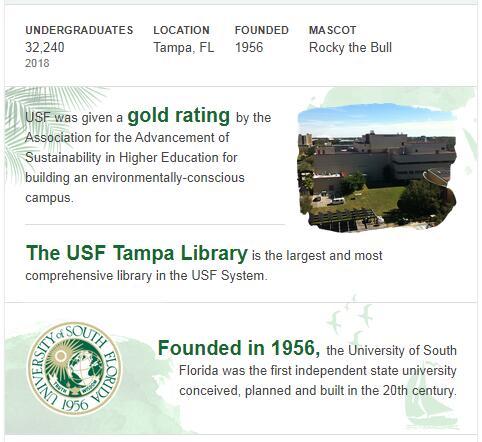 University of South Florida History