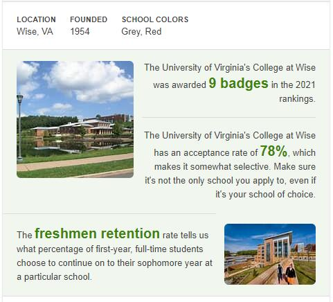 University of Virginia-Wise History