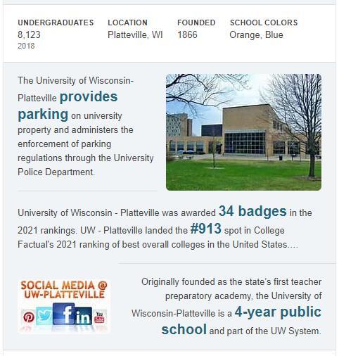 University of Wisconsin-Platteville History
