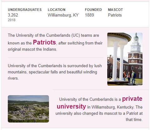 University of the Cumberlands History