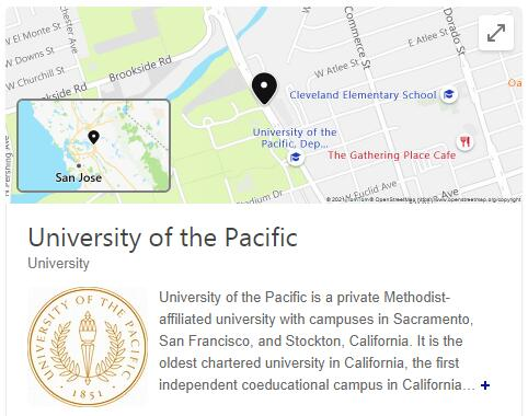 University of the Pacific History