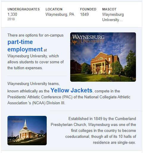 Waynesburg University History