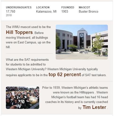 Western Michigan University History
