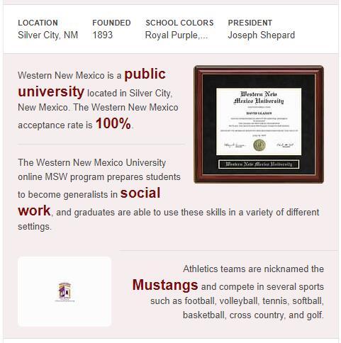 Western New Mexico University History
