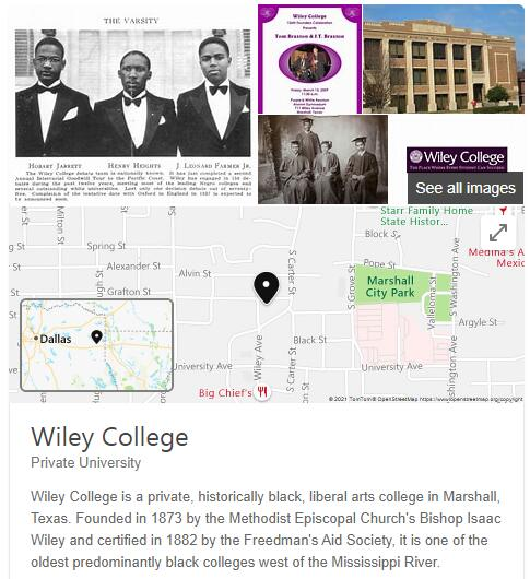 Wiley College History