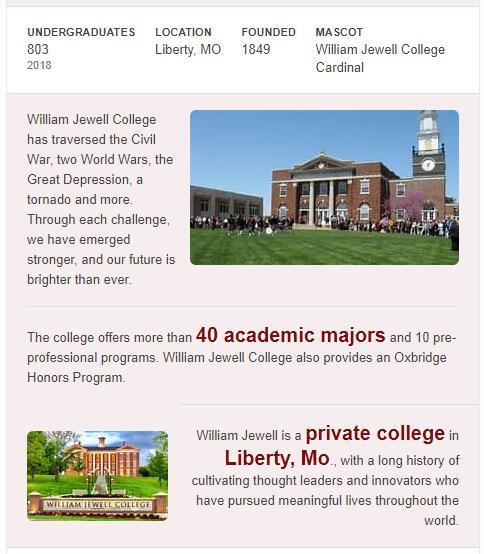 William Jewell College History