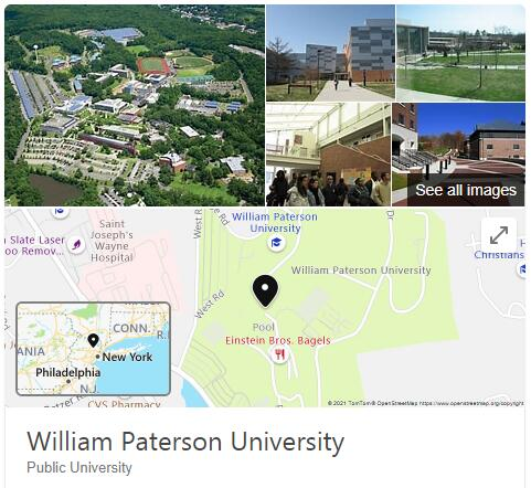 William Paterson University of New Jersey History