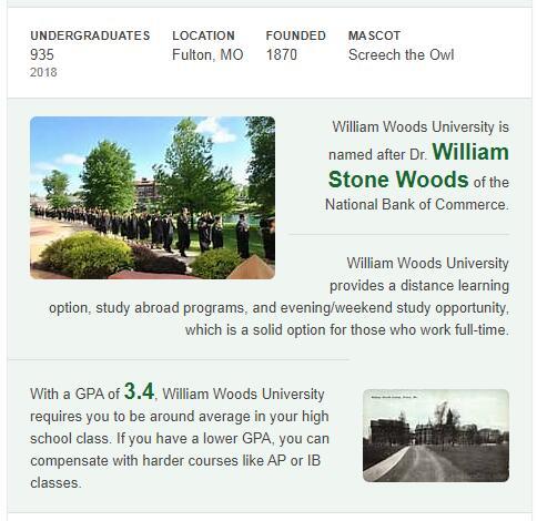 William Woods University History
