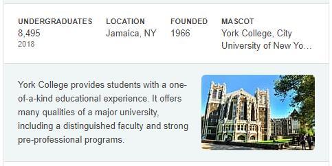 York College History
