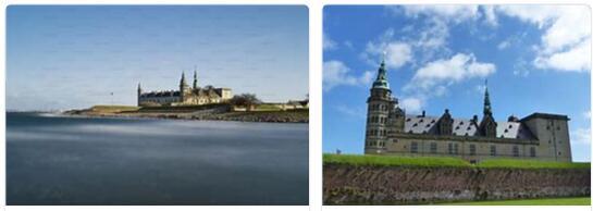 Kronborg Castle near Helsingør (World Heritage)
